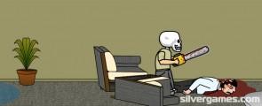 Ребёнок Скелет: Chainsaw