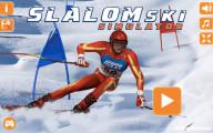 Slalom Ski Simulator: Menu