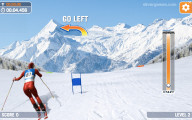 Slalom Ski Simulator: Hurdle Skying