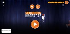 Slam Dunk Basketball: Menu