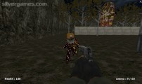 Slenderman And Killer Clown: Gameplay Shooting