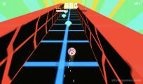 Slope Ball: Ball On Neon Platform