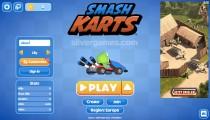 SmashKarts.io: Menu