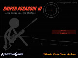 Sniper Assassin 3: Menu