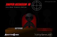 Sniper Assassin 4: Menu