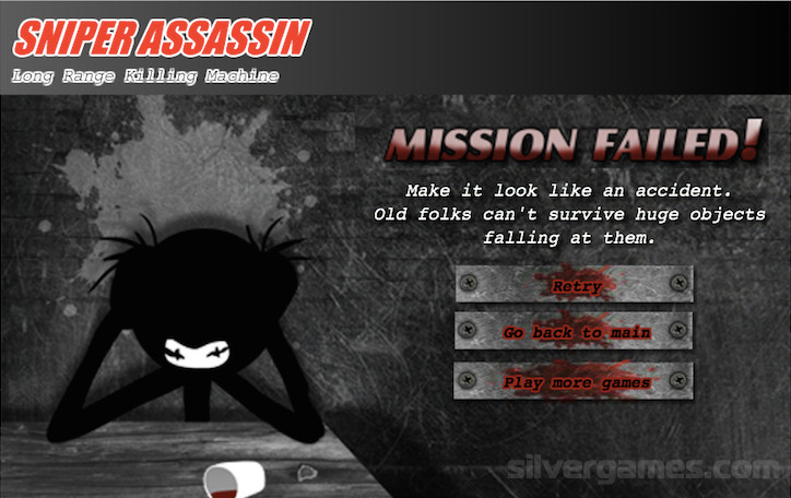 Sniper Assasin Series&& Try The Games