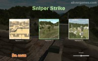 Sniper Strike: Menu