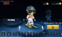 Snowcross Stunts X3M: Menu Avatar Selection