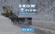 Snowplow Simulator: Menu