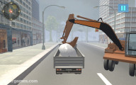 Snowplow Simulator: Truck Loading Snow