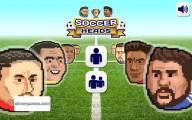 Soccer Heads: Menu