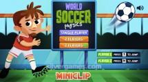 Soccer Physics: Menu