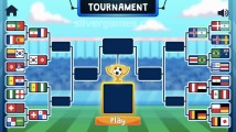 Soccer Physics: Tournament Soccer Nationalities