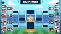 Soccer Physics: Tournament Soccer Nationalities