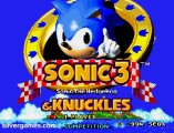 Sonic And Knuckles: Menu
