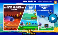 Sonic Running: How To Play