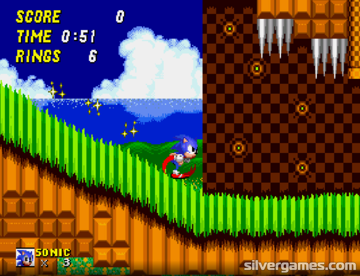 Sonic the Hedgehog 200   Play Sonic the Hedgehog 200 Online on SilverGames