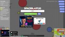 SpaceBlast.io: Menu