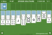 Spider Solitaire: Screenshot