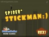 Spider Stickman: Platform Game