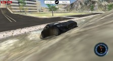 SplatPed 2: Driving Stunts Drifting Black Car