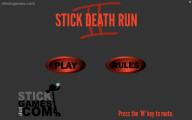 Stick Death Run 2: Menu