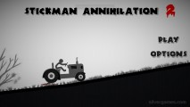 Stickman Annihilation 2: Menu