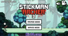 Stickman Archer 3: Menu
