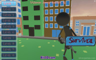 Stickman Armed Assassin 3D: Menu