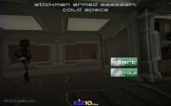 Stickman Armed Assassin Cold Space: Menu