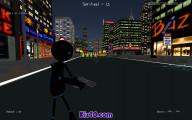 Stickman Armed Assassin Going Down: Big City Battle