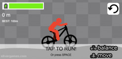 Stickman Bike Racer: Menu