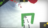 Stickman Extreme Racing: Green Gate Gameplay