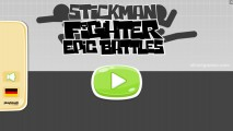 Stickman Fighter: Epic Battles: Menu