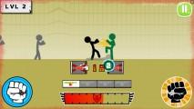 Stickman Fighter: Epic Battles: Duell Battle Gameplay