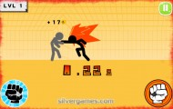 Stickman Fighter: Fighting