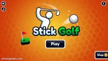 Stickman Golf: Menu