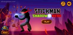 Stickman Shadow Hero: Menu