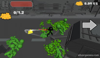 Stickman Sword Fighting 3D: Alien Attack