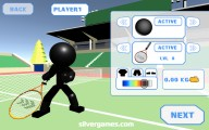 Stickman Tennis 3D: Tennis Upgrade Player