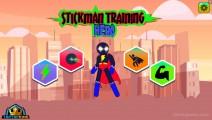 Stickman Training Hero: Menu