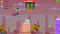 Stickman Training Hero: Superman Flying Gameplay