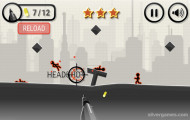 Stickman War: Headshot Gameplay