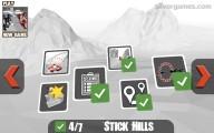 Stickman Wingsuit: Menu