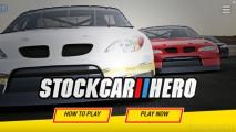 Stock Car Hero: Menu