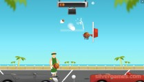 Street Ball Jam: Gameplay Throwing Ball Sports