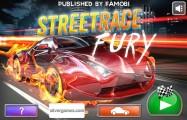 StreetRace Fury: Menu