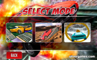 Stunt Car Driving Pro: Mode Selection