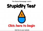 Stupidity Test: Menu