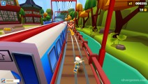 Subway Surfers: Buenos Aires: Gameplay Distance Skateboard